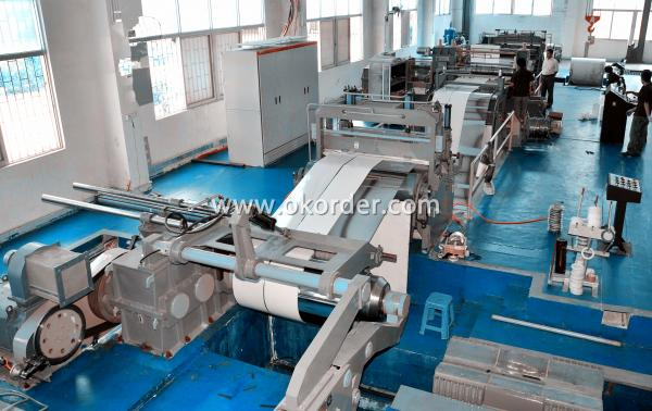 General Information of Combined Slitting and Cut to Length Line
