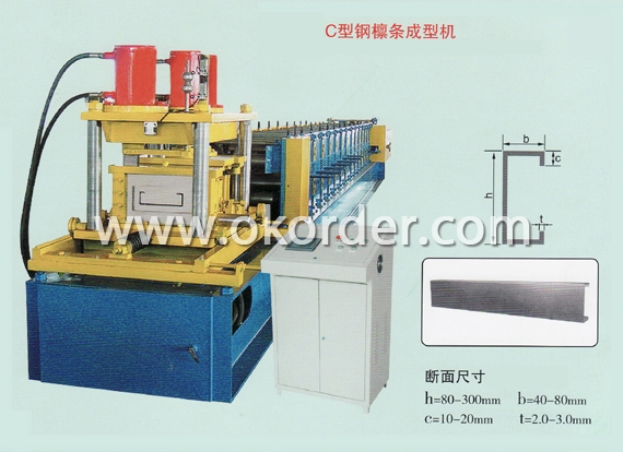 C-sectional Roll Forming Machine