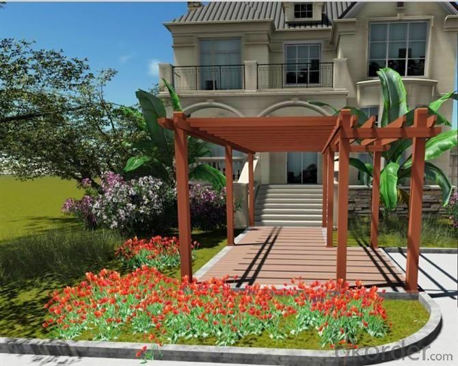 Wood Plastic Composite Landscape CMAX Z003