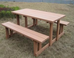 WPC Wood Plastic Compostie Outdoor Table CMAX S007