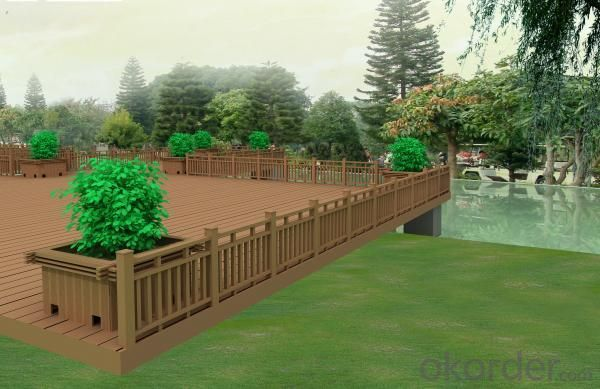 Wood Plastic Composite  Landscape CMAX S005