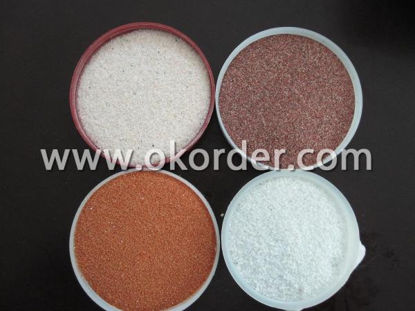 Multicolored granules