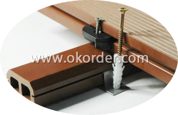 Main Colors of Wood Plastic Composite Decking CMAX S140H21B