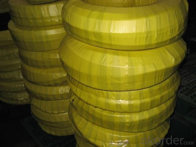 Four High-pressure Hose Wire Entanglement