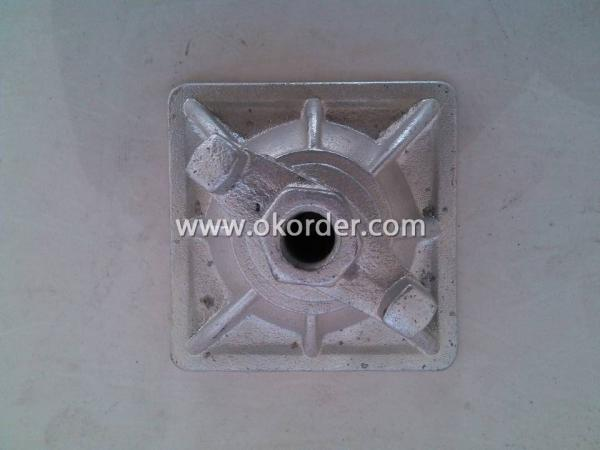 Scaffolding Parts-Cold Galvanized TIE ROD NUT