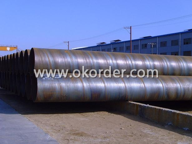 ssaw welded pipe carbon