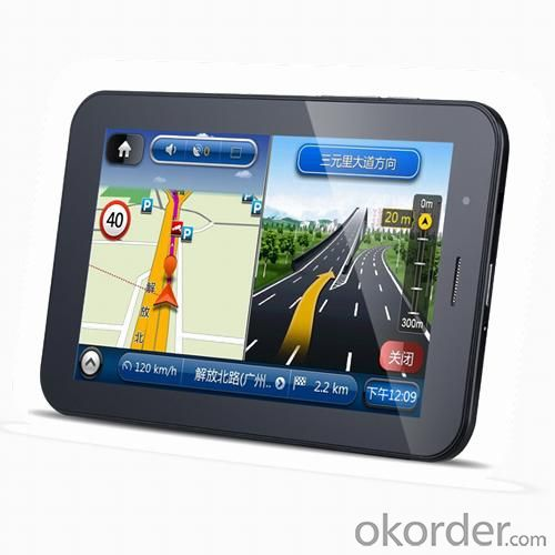 7 Inch Android GPS Navigation With 3G Communication