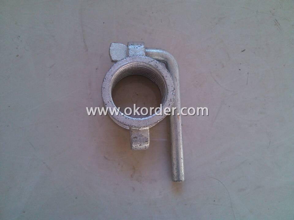 Hot Dip Galvanized Prop Nut With Handle Dia 48 mm