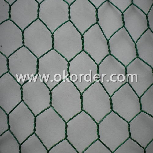 pvc chicken wire netting