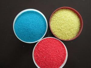 Multicolored Granules For Waterproof Field