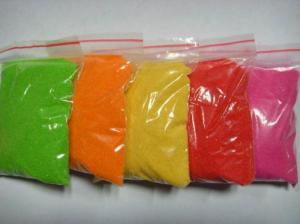 Multicolored Granules Light Yellow Color