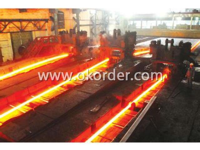 Flow of Steel Round Bar