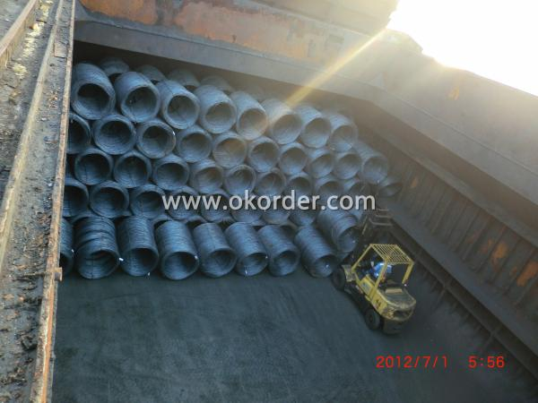 WIRE ROD IN BULK VESSEL