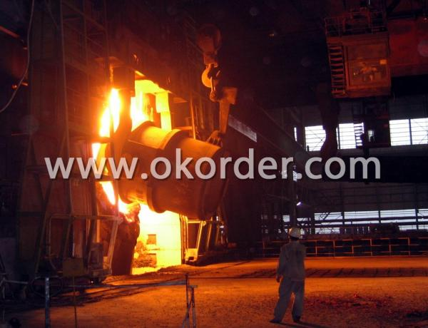 Production of Steel Round Bar