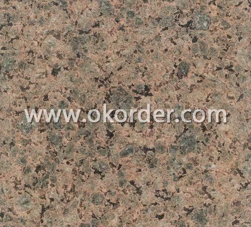 golden granite tile