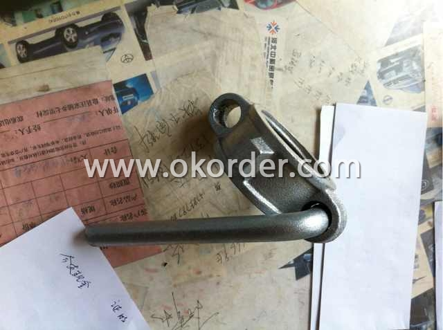 Cold Galvanized Prop Nut With Handle Dia 48 mm