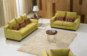Modern Fabric Sofa Furniture Set Elegant Design