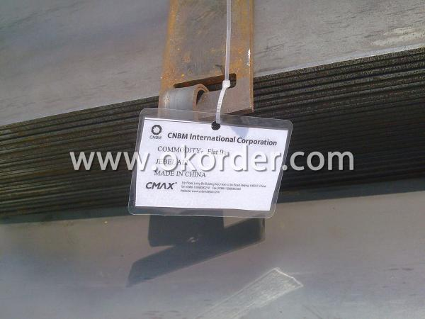 Marking of Q235 Steel Flat Bar