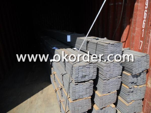 Loading the Hot Rolled Steel Flat Bar in Containers