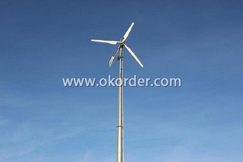 Wind Turbine Mainbody Of CNBM-10KW On Hills