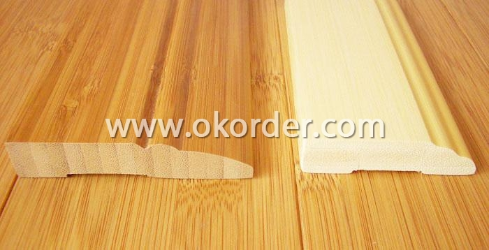 MDF decorative end cap /threshold