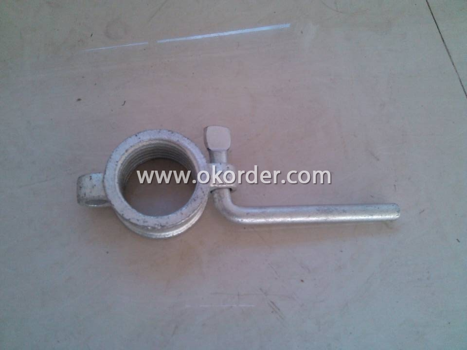 Cold Galvanized Prop Nut With Handle Dia 60 mm