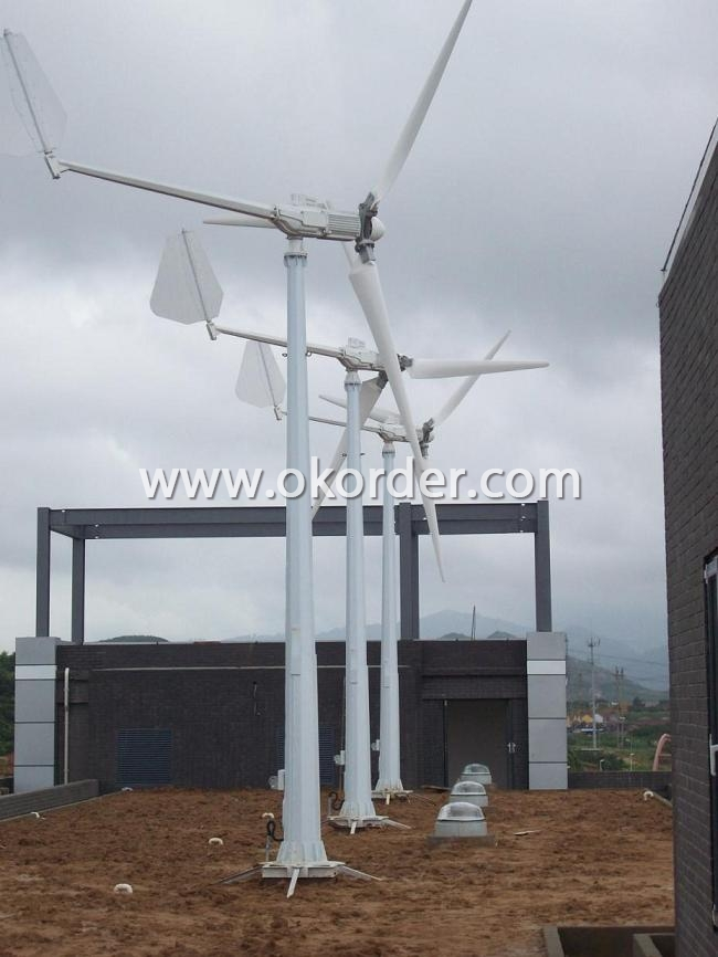 Wind Turbine On Roof
