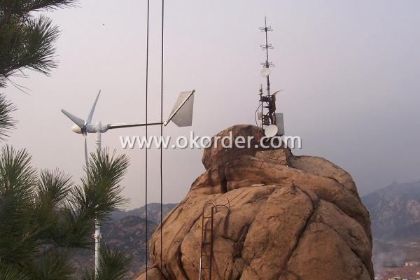 CNBM-1KW Wind Turbine On Hills