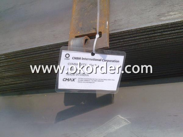 Marking the Hot Rolled Steel Flat Bar with Tags