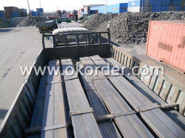 Transporting the High Quality Flat Bar to Port