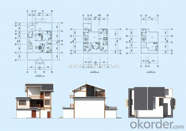 Residential Building of Steel structure house