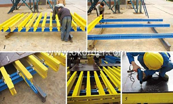 Formwork System-H20 Timber Beam With Length 3300 mm