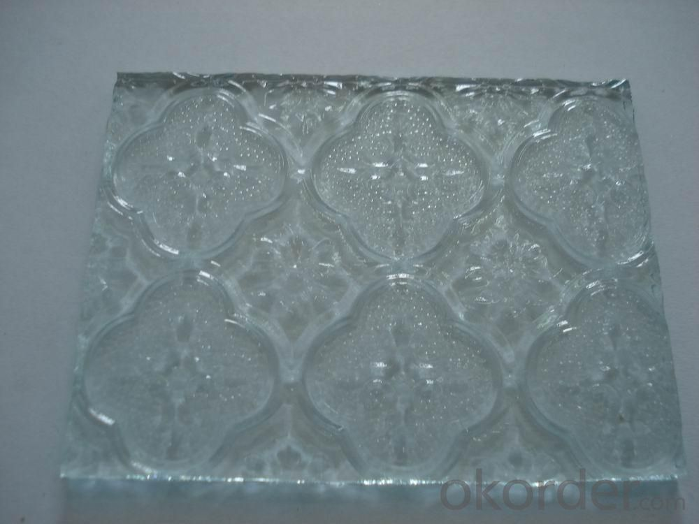Clear Patterned Glass