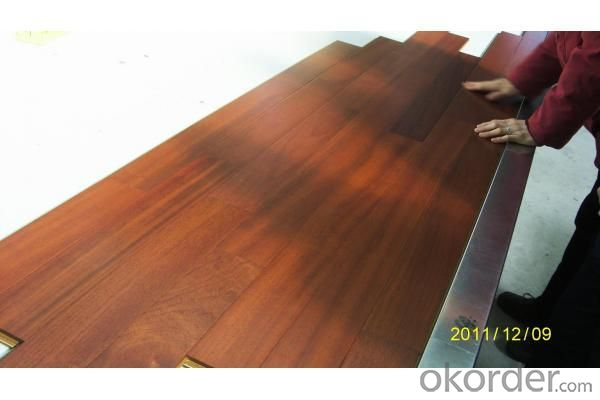 Natural Smooth Three-layer Engineered Jatoba Flooring