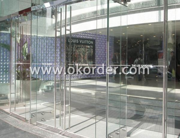 2mm ultra clear/extra clear glass for building glass curtain walls, glass doors and windows, glass partitions