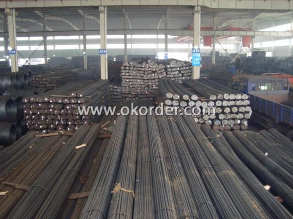 Stock of Steel Round Bar