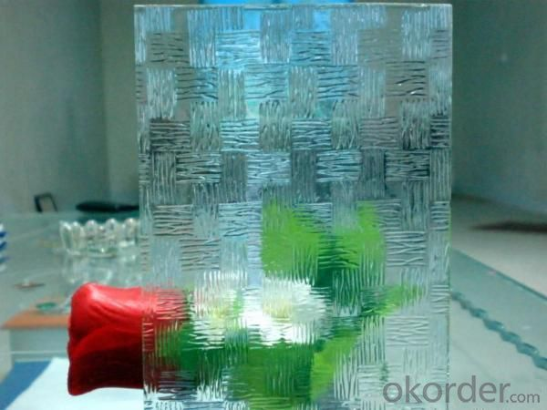 Colored Patterned Glass