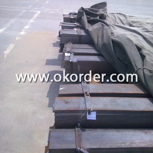 Packing the Hot ROlled Steel Flat Bar in Bundles