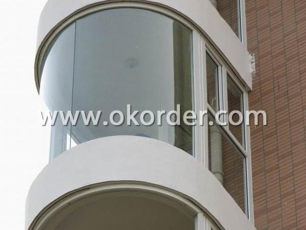3-19mm ultra clear low iron glass for building