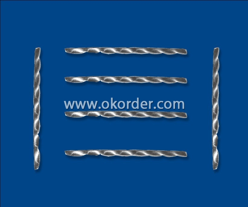 The Steel Fiber for Concrete is widely used for various constructions.