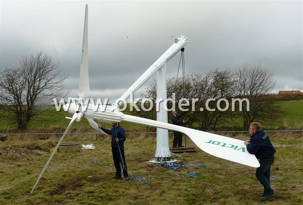 Wind Turbine In Denmark