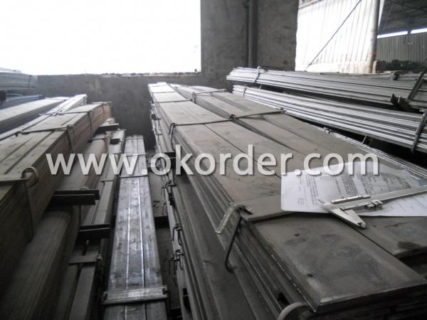 Package of Flat Steel Bar