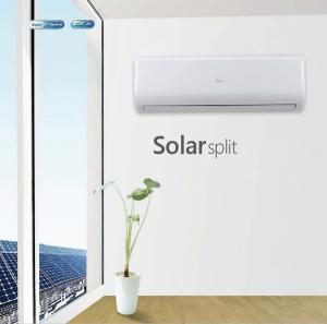 Solar Air Conditioning System Air-Conditioner--Powered by Solar Panels