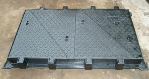 A15  Ductile Iron Manhole Cover
