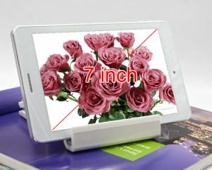 Quad Core 7 inch IPS WiFi Bluetooth 0.3MP+2.0MP Brushed Metal Shell