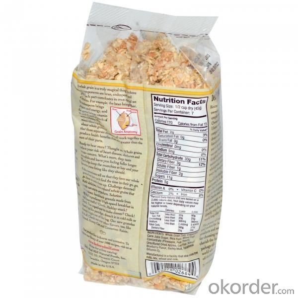 Kraft Plastic Laminated Food Packaging Bag
