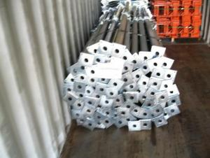 Cold Galvanized Adjust U-head With Length 600mm