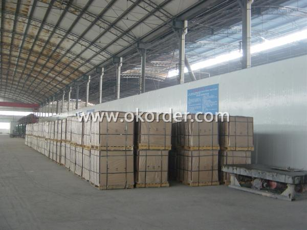 sillimanite bricks in warehouse