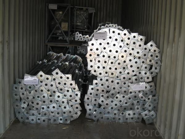 Hot Dip Galvanized Adjust U-head With Length 500mm