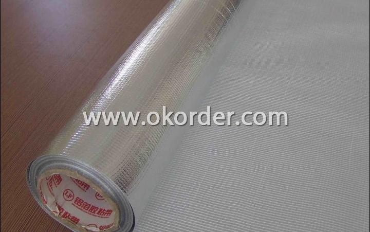 Fiberglass Fabrics Aluminium Foil